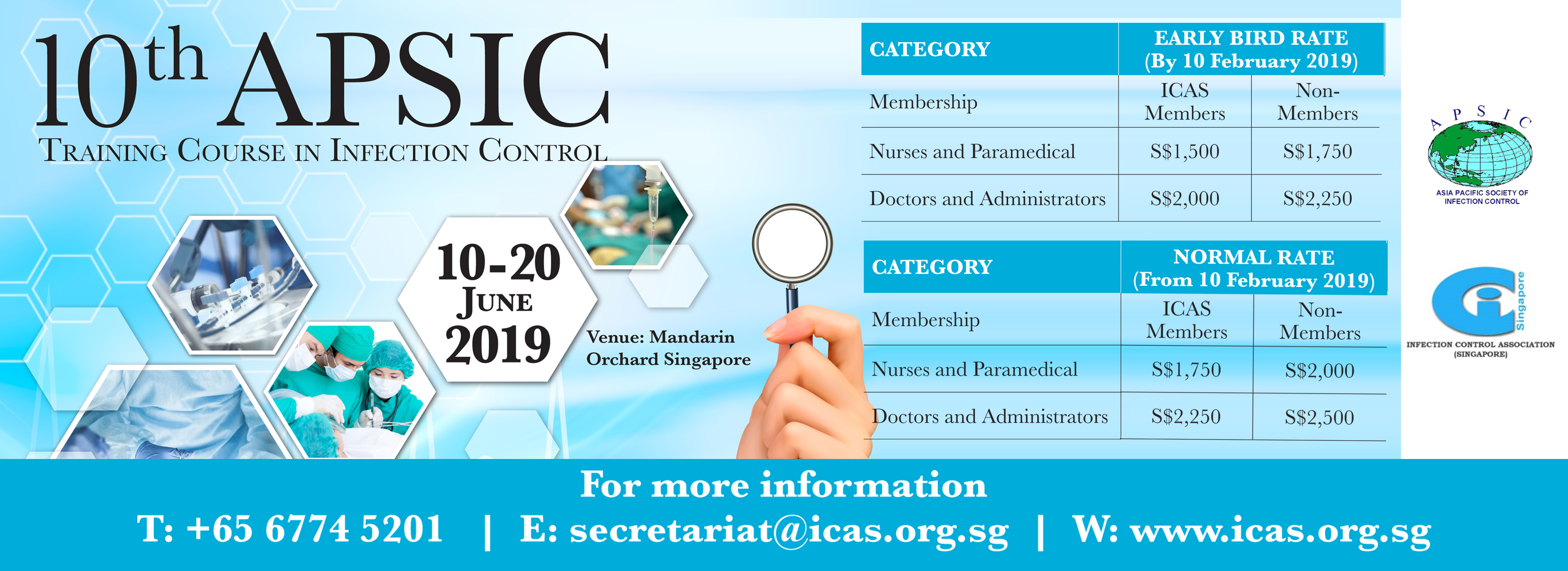 10th APSIC Training Course in Infection Control