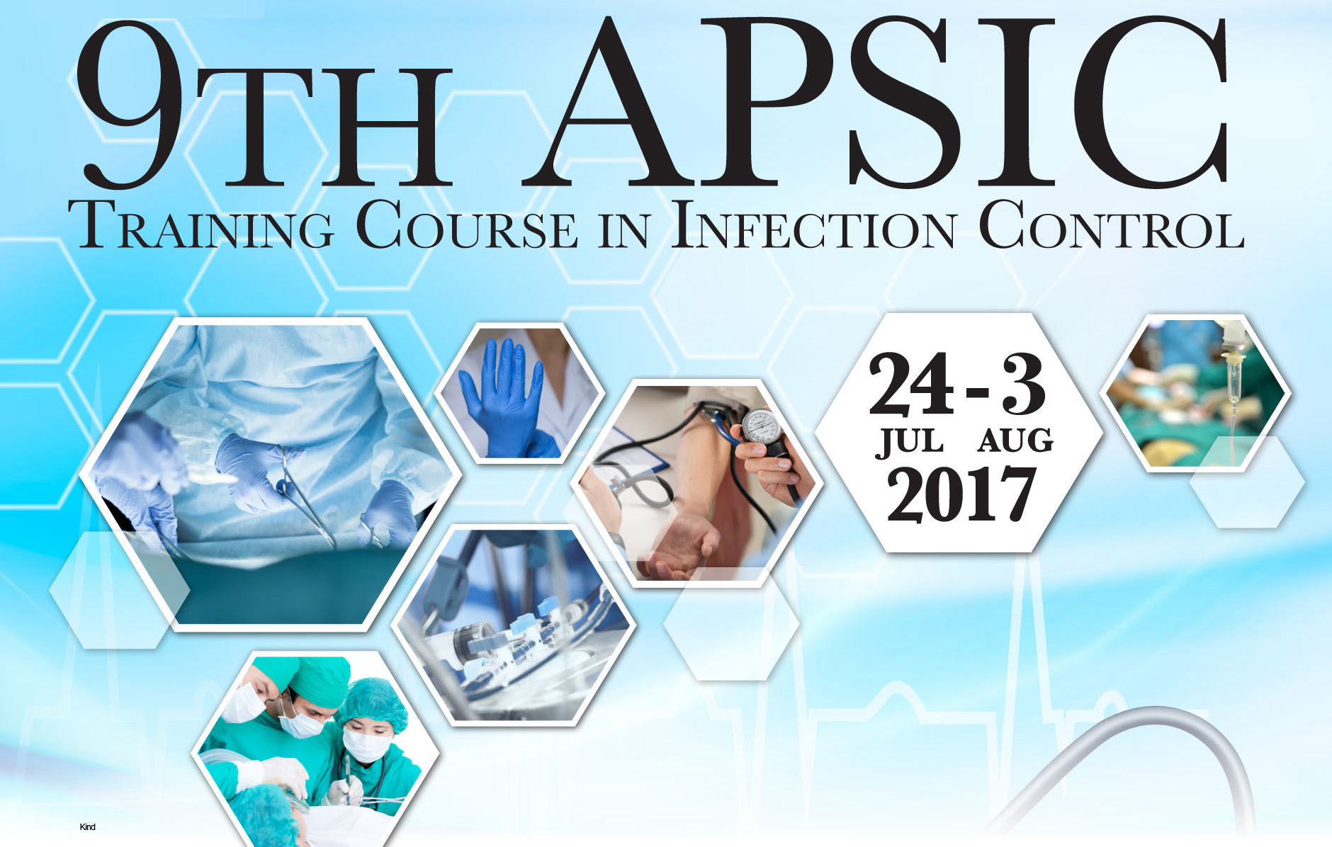 9th APSIC Training Course in Infection Control