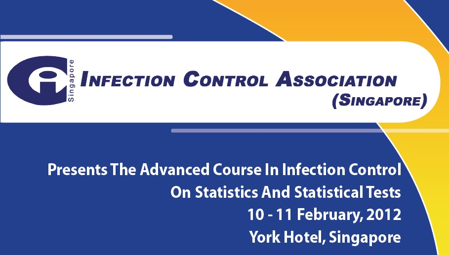 The Advance Course in Infection Control – Statistic and Statistical Tests