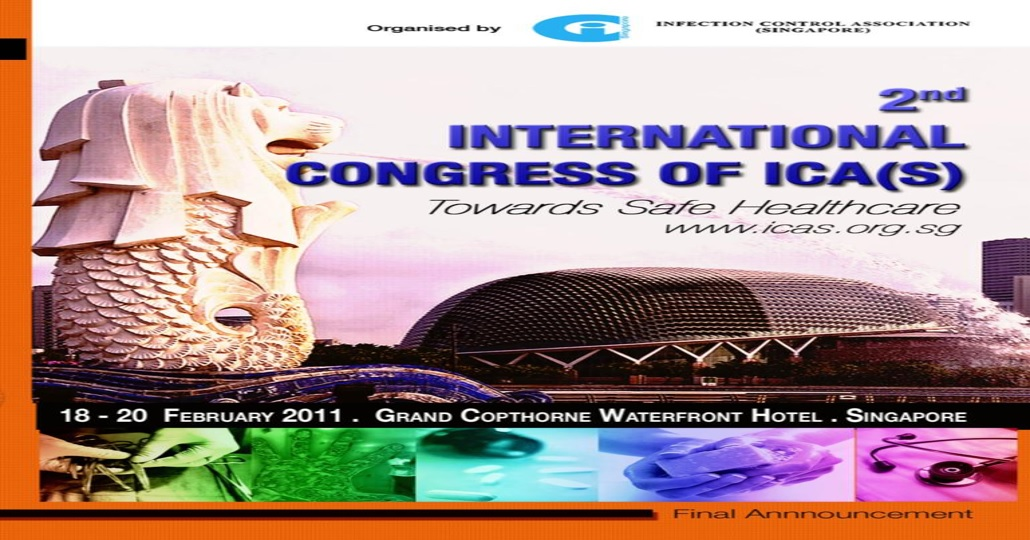 2nd International Congress of ICA(S) – Towards Safe Healthcare