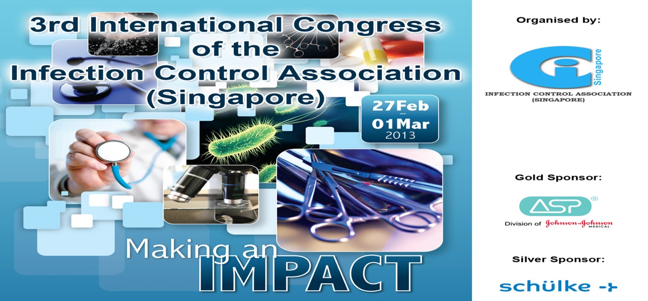 3rd International Conference of Infection Control Association (Singapore)