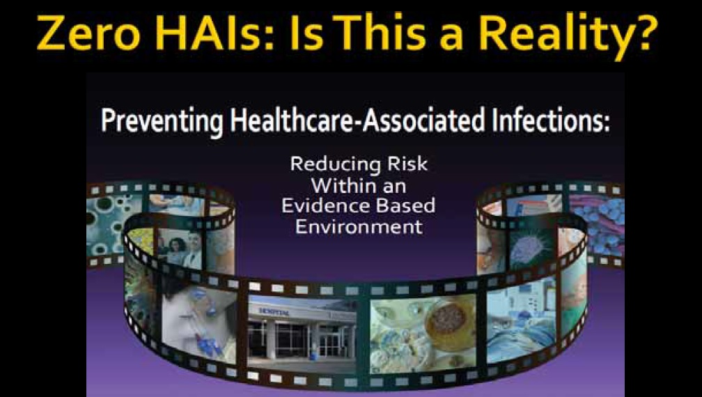 National Infection Control Week – Dinner Symposium with Ms Maureen Spenser: Zero HAIs: Is This A Reality